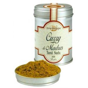 Terre Exotique Curry de Madras Tamil Nadu boite de 60g