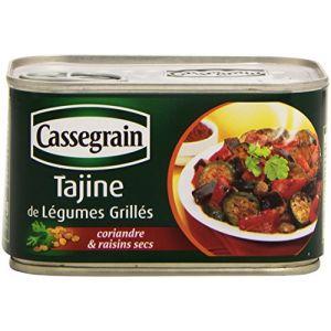 Cassegrain Tajine de légumes grillés - La boîte de 375g