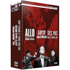 Coffret 3 Films noirs : Allo... Brigade Spéciale + Lutte Sans Merci + Des Pas Dans Le Brouillard