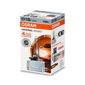 Osram 66140 Ampoule xénon XENARC ORIGINAL D1S HID, Lampe à Décharge, Qualité de l%u2019Équipement d%u2019Origine OEM, Boîte pliante, 1 pièce