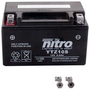 Nitro Batterie YTZ10S fermée Type Acide Sans entretien