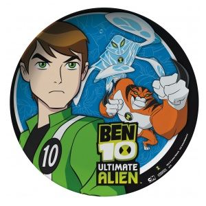 Assiette mélamine Ben Ten 24,5 cm