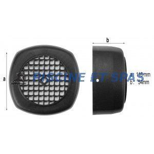 Procopi 595022 - Capot de ventilateur de pompe Iris