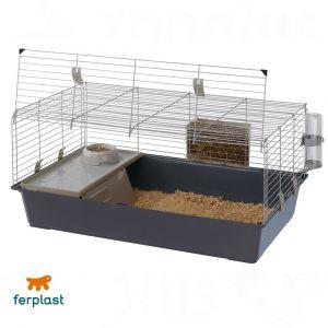 Ferplast Rabbit 100 - Cage pour lapins
