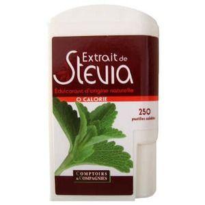 Comptoirs et Compagnies Distributeur 250 pastilles de stévia