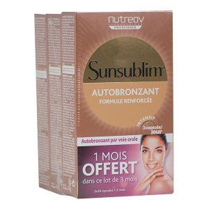 Nutreov Sunsublim - Autobronzant en capsules