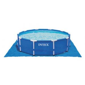 Intex Tapis de sol pour piscine ronde Ø 5,49 m