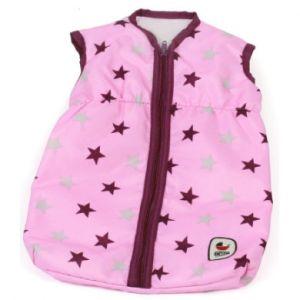 Bayer Chic 2000 Gigoteuse pour poupée étoiles couleur mûre rose/rose vif
