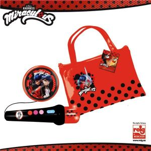 Reig Musicales Sac avec microphone LadyBug