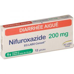 E.G. Labo Nifuroxazide 200 mg