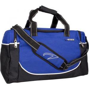 Avento Sac de sport moyenne taille noir/bleu cobalt 50TD