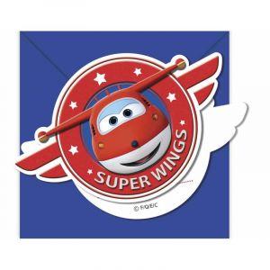 Procos 6 Invitations Super Wings