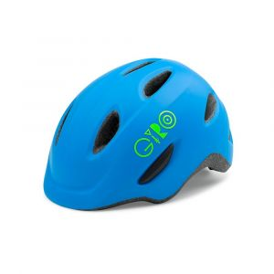 Giro Scamp Casque Enfant, Matte Blue/Lime, XS