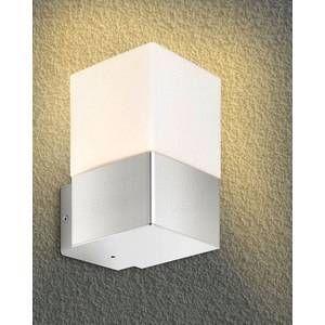 Licht Creativ Design GmbH Applique d'extérieur Linus inox sans détecteur