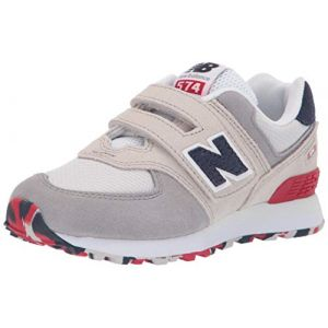 New Balance Baskets basses enfant 574 blanc - Taille 27 1/2