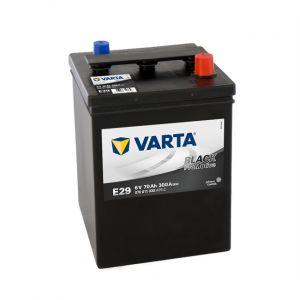 Varta Batterie E29 70 Ah-300 A 6v Black tive