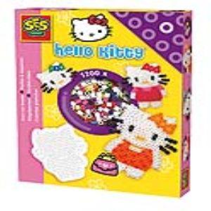 Ses Creative Boîte de 1200 perles à repasser : Hello Kitty