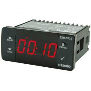 Emko Afficheur minuterie 4 chiffres, 1 sortie de relais EZM-3735.5.00.0.1/07.07/1.0.0.0 230 V/AC