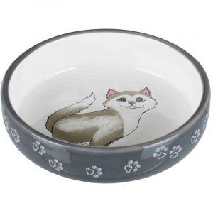 Trixie Gamelles en céramique pour chats Ecuelle Céramique pour Races à Museau Court