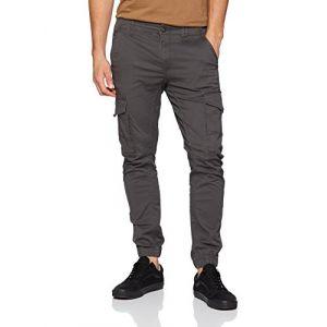 Jack & Jones Pantalons Jack---jones Paul Flake Akm 542 L34 - Asphalt - W32-L34