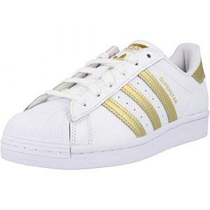 Adidas Superstar Femme Blanche Et Or 36 Baskets