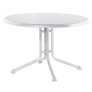 Kettler 0307017 - Table de jardin ronde Kettalux plus Ø115 x 74 cm -  Comparer avec Touslesprix.com