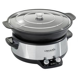 Crock-Pot Mijoteuse sauteuse électrique 6 litres programmable