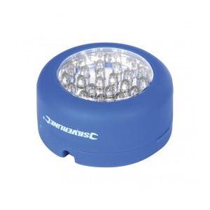 Silverline 456428 - Lampe magnétique 24 LED