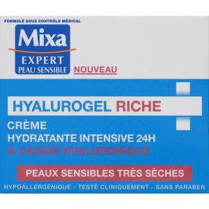 Mixa Crème hydratante intensive 24h - Hyalurogel Riche - Le pot de 50 ml