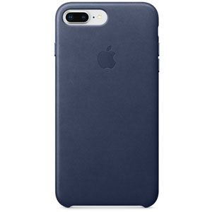 Apple Coque en cuir Bleu nuit iPhone 8 Plus / 7 Plus