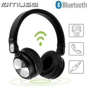 Muse M-276BT - Casque stéréo sans fil Bluetooth