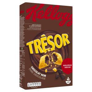 Kellogg's Céréales fourrées au chocolat noir enrichies en vitamies & en fer
