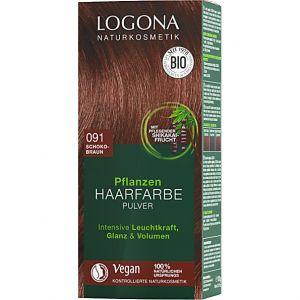 Logona Coloration Capillaire Poudre - Chocolat 91