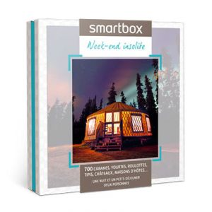 Smartbox Week-end insolite - Coffret cadeau 755 séjours