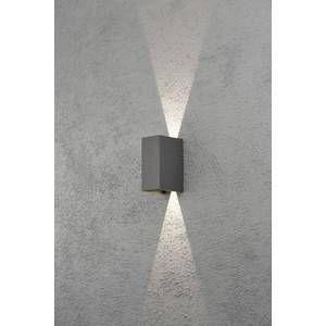 Konstsmide Applique murale extérieure LED Cremona anthracite 7940-370