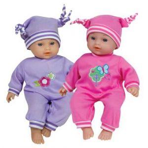 Lissi Dolls Bébé Nina 28 cm et 6 sons