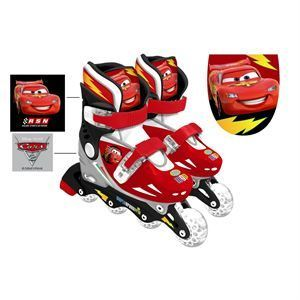 Patins en ligne ajustable Disney Cars 2