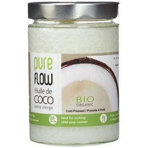 Pure Flow Huile de coco extra vierge