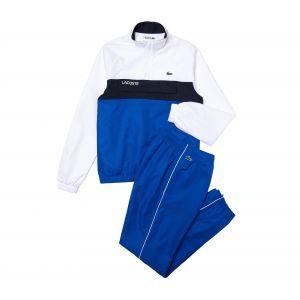 Lacoste Sport WH9540 Ensemble survêtement hom, Blanc/Lazuli-Marine, XS Homme