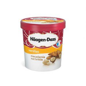 Häagen-dazs Glace macadamia - Le pot de 430g
