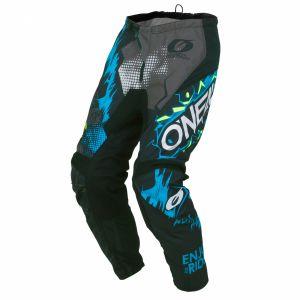 O'neal Element Villain Pantalon de motocross Gris 32