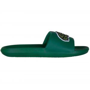 Lacoste Croco Slide 319 4 tong Hommes vert T. 44,5