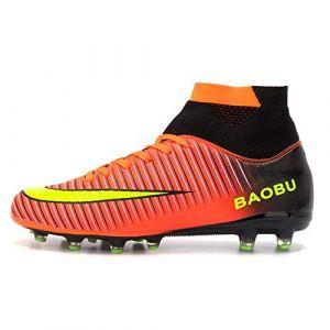 Nike Chaussures de foot enfant JR SUPERFLY 6 ACADEMY GS CR7 SCARPINI ROSSI AJ31116 rouge - Taille 38