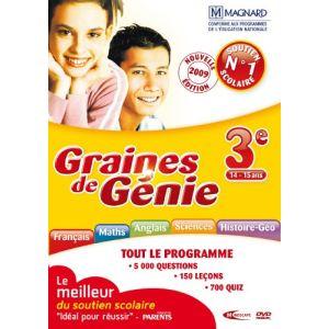 Graines De Génie : 3ème - 2009/2010 [Windows]