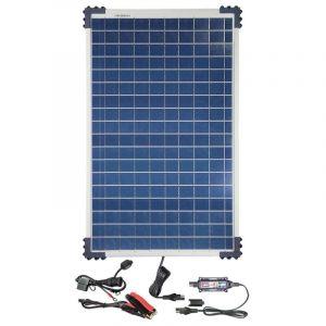 TecMate Chargeur de Batterie solaire OPTIMATE SOLAR 12V 40W 3.3A
