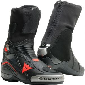 Dainese Bottes Axial D1 Air - Black / Fluo Red - Taille EU 44