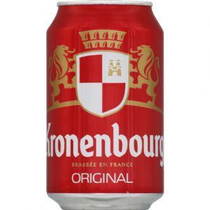 Kronenbourg Bière blonde, 4,2%vol. - La canette de 33cl