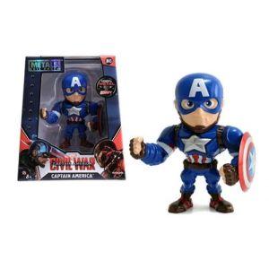 Metals Die Cast M45 - Figurine Marvel Civil War Captain America 10 cm