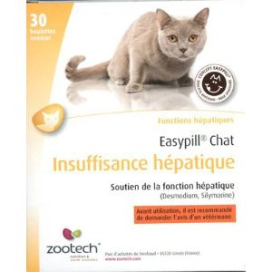 Zootech Easypill Chat : Insuffisance hépatique