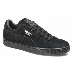 Puma Suede Classic+ - Baskets mode - Mixte Adulte - Noir (Black/Dark Shadow) - 46 EU